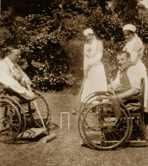 Дом инвалидов ВОВ на Валааме