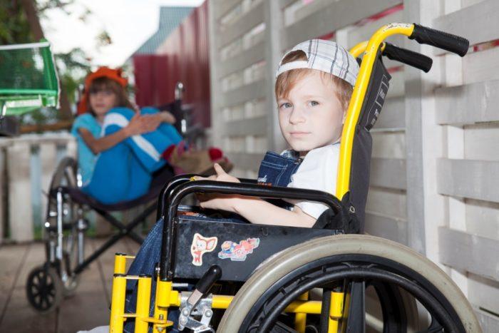 Инвалиды с детства