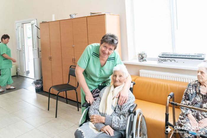 Пансионаты и санатории для престарелых и инвалидов