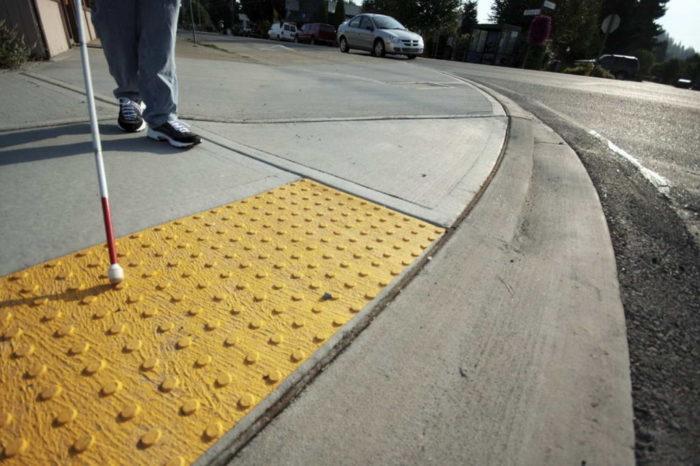 Тактильная плитка для инвалидов