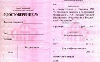 Удостоверение инвалида 1, 2, 3 группы