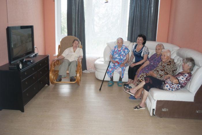 В домах интернатах пансионатах для престарелых и инвалидов дом престарелых борский район