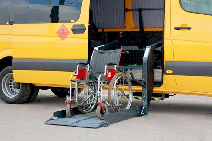 Перевозка инвалидов и инвалидов-колясочников